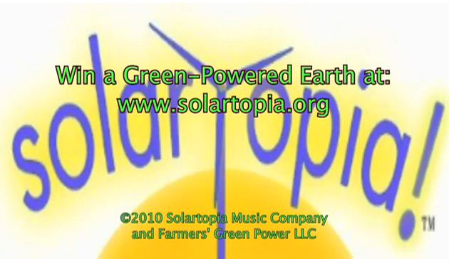 We need a Green-Powered Solar Topia